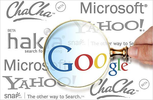la potenza di Google contro i suoi concorrenti
