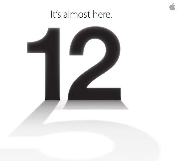 evento iphone 5