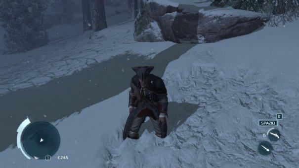 la neve in assassin creed 3