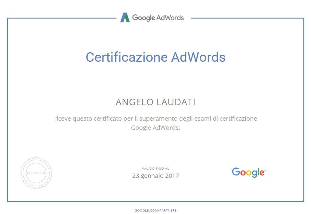 adwords-certificazione