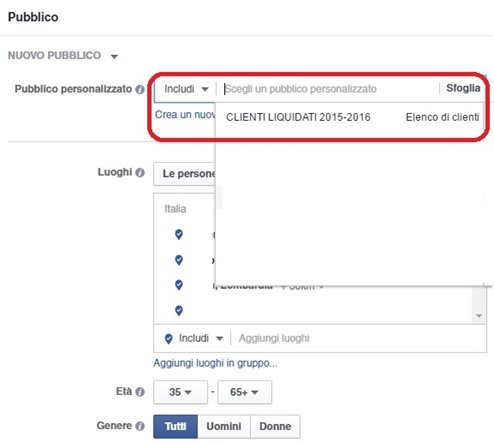 clienti-da-includere-e-da-escludere-facebook-ads