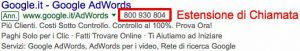Estensioni Google AdWords